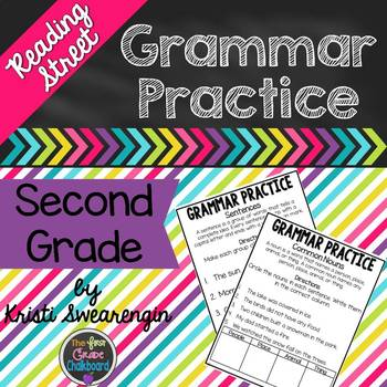 Reading Street Grammar Worksheets Teaching Resources TpT