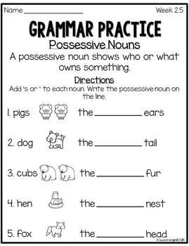Reading Street Grammar Practice Second Grade by Kristi ...