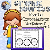 Graphic Sources Reading Comprehension Worksheet - Distance Learning!