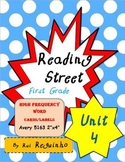 Reading Street - HFW for Unit 4 - Avery 5163 labels with borders