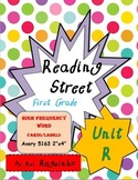 Reading Street - HFW for Unit R - Avery 5163 labels with borders