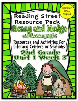 Henry and Mudge Reading Street Resource Pack 2nd Gr Unit 1 Week 3