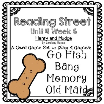 Reading Street: Henry and Mudge 4-in-1 Spelling and HFW Games