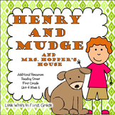 """Reading Street """"Henry and Mudge and Mrs. Hopper's House"""" Additional Resources"""