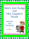 Henry and Mudge and Mrs. Hopper's House, Centers and Print
