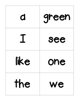 Reading Street High-Frequency Word Flashcards- 1st Grade