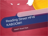 Reading Street High Frequency Word Kaboom