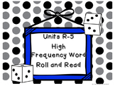 Reading Street High Frequency Word Roll and Read Games (Un