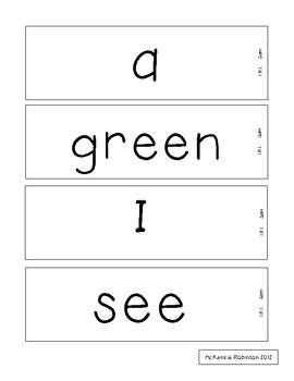 Reading Street High Frequency Words Grade 1