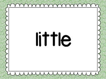 Reading Street Unit 1 High Frequency Words PowerPoint Slideshow Presentation