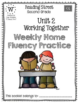 Reading Street Home Fluency Book Unit 2 Working Together