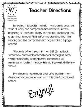 Reading Street Home Fluency Book Unit 3 Creative Ideas