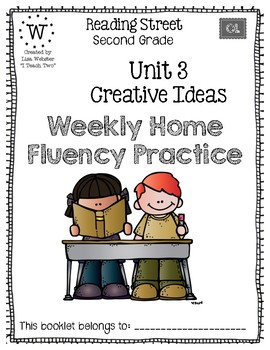 Reading Street Home Fluency Book Unit 3 Creative Ideas