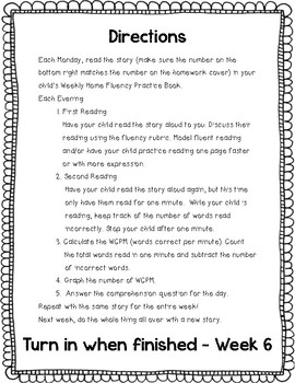 Reading Street Home Fluency Book Unit 5 Responsibility
