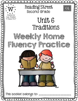 Reading Street Home Fluency Book Unit 6 Traditions