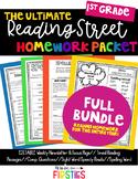 Reading Street Homework 1st Grade BUNDLE