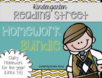 Reading Street Homework BUNDLE!