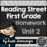 Reading Street Homework Packet: First Grade Unit 2