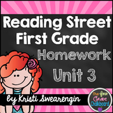 Reading Street Homework Packet: First Grade Unit 3