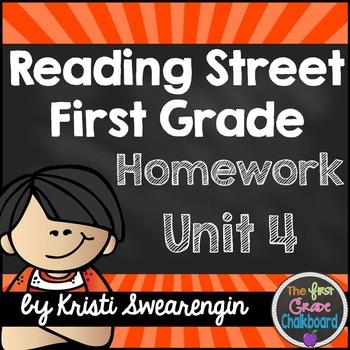 Reading Street Homework Packet: First Grade Unit 4