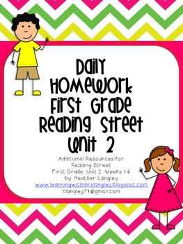 Homework Unit 2 First Grade
