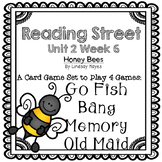 Reading Street: Honey Bees 4-in-1 Spelling and HFW Games
