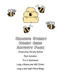"Reading Street ""Honey Bees"" Activity Pack"