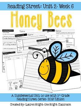 Reading Street- Honey Bees Supplemental Unit {Unit 2: Week 6}