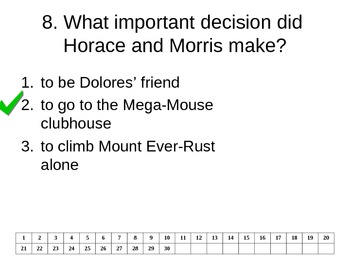 """Reading Street """"Horace and Morris """" Selection Test (Turning Point)"""