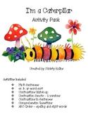 "Reading Street ""I'm a Caterpillar"" Activity Pack"