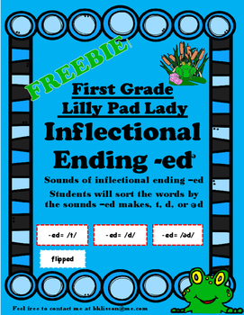 Reading Street Inflectional Ending -ed