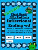 Reading Street Inflectional Ending -ed