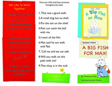 Reading Street- Informational trifold for A Big Fish for Max!
