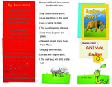 Reading Street- Informational trifold for Animal Park!