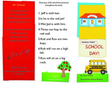 Reading Street- Informational trifold for School Day!