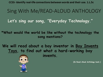 Reading Street Interactive Daily Lessons (4 days) - Alexander Graham Bell