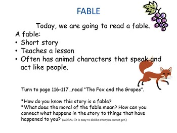 Reading Street Interactive Lessons (4 days) - A Fox and a Kit-CUSTOMIZABLE