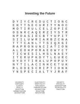 Reading Street Inventing the Future Notes and Worksheets