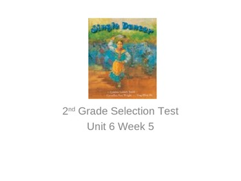 """Reading Street """"Jingle Dancer"""" Selection Test (Turning Point)"""