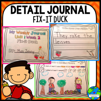 RS SideKick K Unit 1 Duck Detail Journals