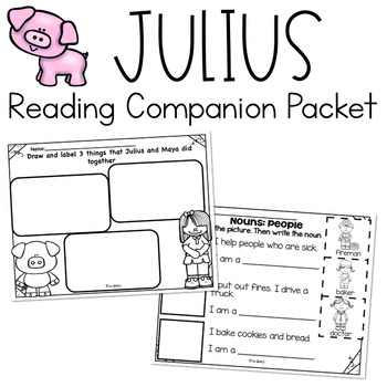 RS Sidekick K Unit 1 Pig Packet {Compatible Reading Street}