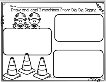 RS SideKick K Unit 1  Digging {Compatible with Reading Street}