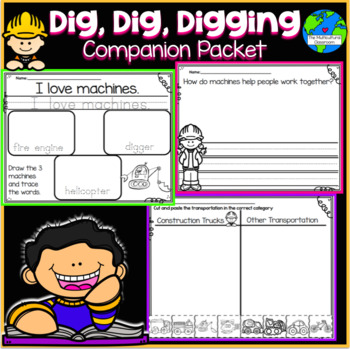 Dig, Dig, Digging Companion Packet