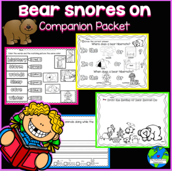 RS Sidekick K Unit 2 Bears Snores Packet {Compatible with Reading Street}