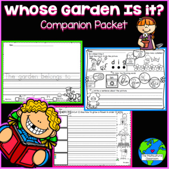 RS SideKick K Unit 2  Whose Garden? Packet {Compatible with Reading Street}