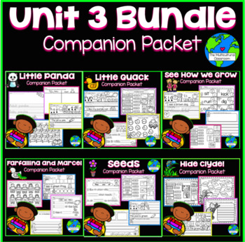 RS SideKick Unit 3 Bundle-All 6 packets in 1 bundle {Compatible Reading Street}