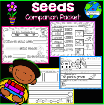 RS SideKick Unit 3  Seeds {Compatible with Reading Street}
