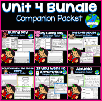 RS SideKick K [Unit 4 Bundle All 6 Packets]{Compatible with Reading Street}