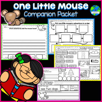 RS SideKick K Unit 4 Little Mouse {Compatible with Reading