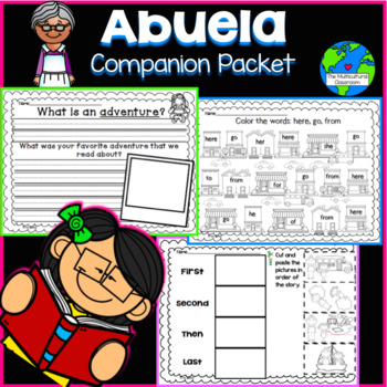 RS SideKick K Unit 4 Abuela {Compatible with Reading Street}